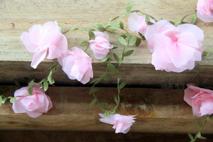 Handmade flower garland Tea Party supplies and shopping guide | Life's Little Celebrations