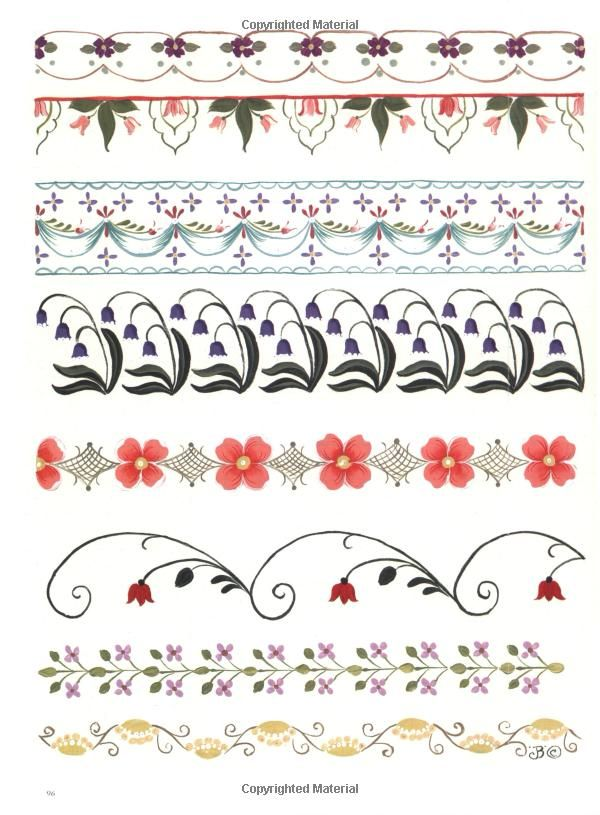 Borders from The Big Book of Decorative Borders: Jodie Bushman