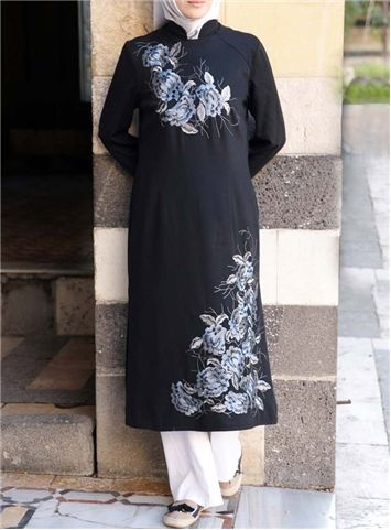 SHUKR International | Sham Embroidered Tunic