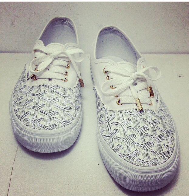 Goyard Vans Shoes Pinterest Van