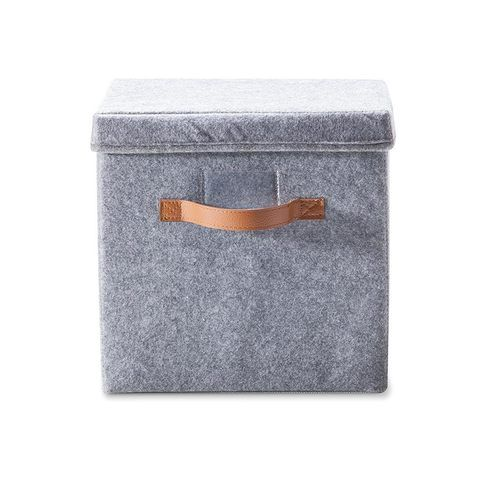 Felt Storage Box with Lid | Kmart $6
