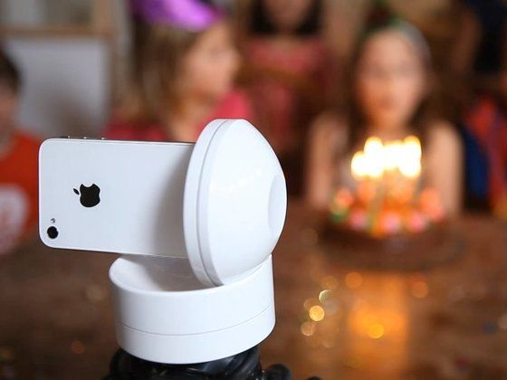 Galileo: Remote control (from another iOS device) your iPhone w/ 360 pan & tilt.  Funded w/ Kickstarter.  This is awesome.