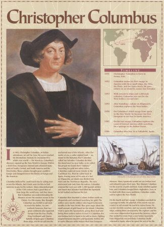 a history of columbus expedition in north america The new york public library has the journal that columbus kept of his first voyage to america and a documentary history of north america to.