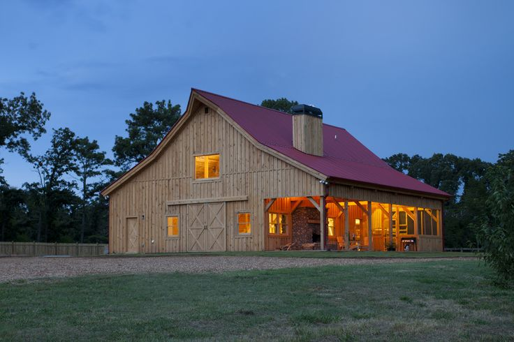 1000 images about house plans on pinterest post and for Wood barn homes