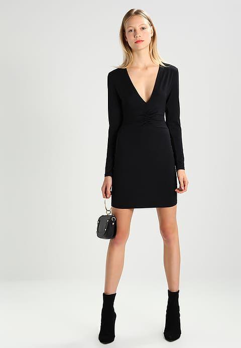 Zalando - NEROLI DRESS - Jersey dress - black