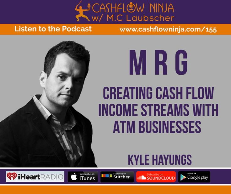155: Kyle Hayungs: Creating Cash Flow Income Streams With ATM Businesses