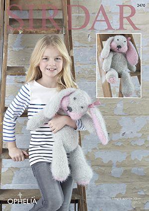Sirdar 2470 Sirdar Ophelia Knitted Rabbit Toy