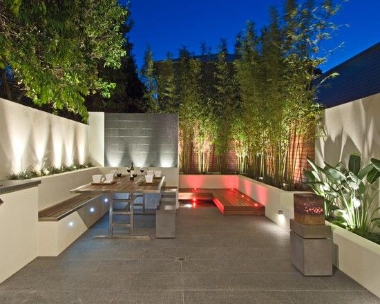 Tropical Backyard Landscaping Design, Pictures, Remodel, Decor and Ideas - page 6 great for roof deck!
