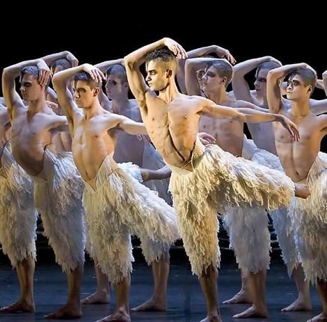 Matthew Bourne's Swan Lake. Could watch this over and over.