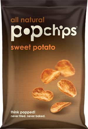 Sweet potato - popchips! Only 3g of sugar per serving (23 chips). Crunchy goodness when going low carb!!