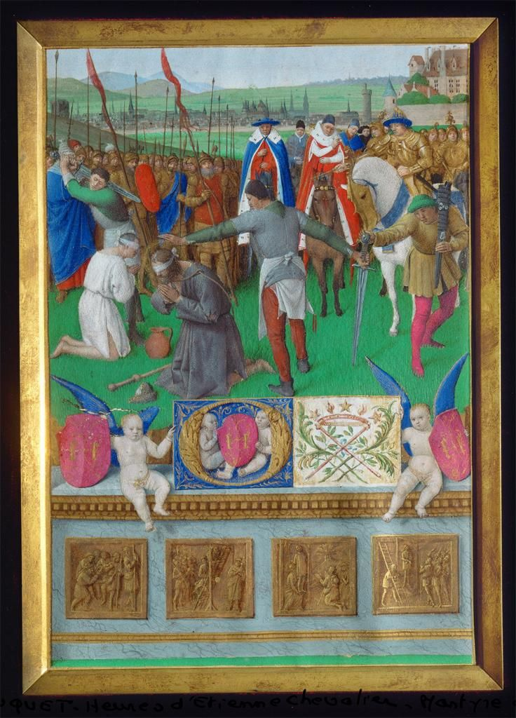 Jean Fouquet, Martyrdom of Saint James the Elder
