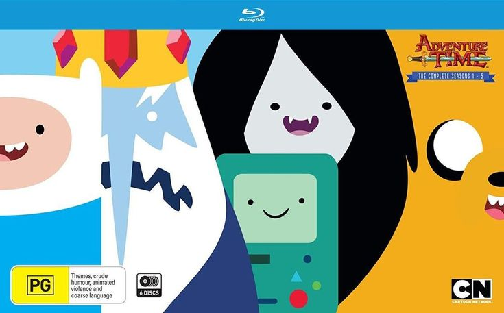 Adventure Time Complete Seasons 1- 5 Blu Ray Regions A,B,C New Sealed   DVDs, Films & TV, DVDs & Blu-rays   eBay!