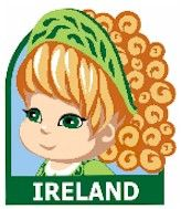 MakingFriends Ireland | World Thinking Day Ideas Break out the St. Paddy's Day décor, take a boxing lesson or make a sentimental Claddagh SWAP for your Irish booth at your Girl Scout Thinking Day or International celebration.