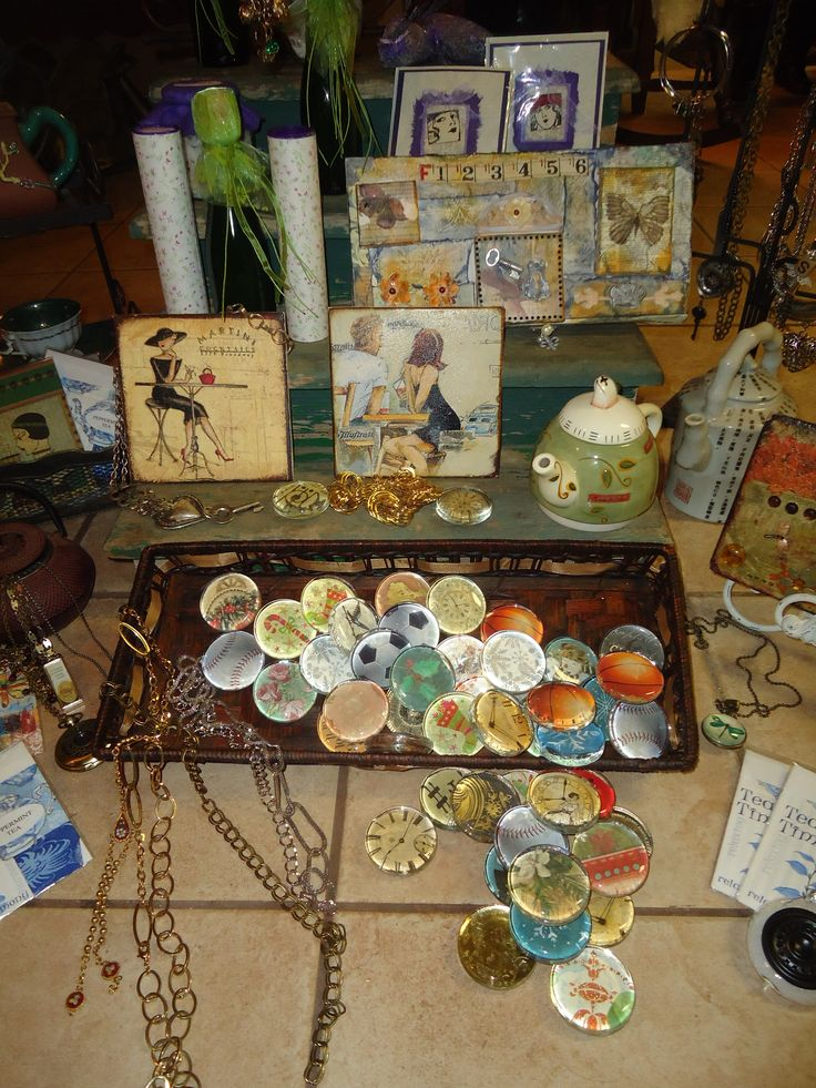 A wide selection of handcrafted jewelry, notions and gifts
