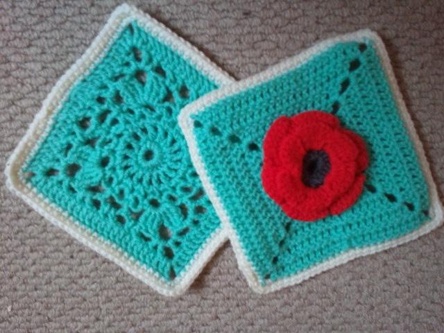 "6"" Granny Squares - Crochet"
