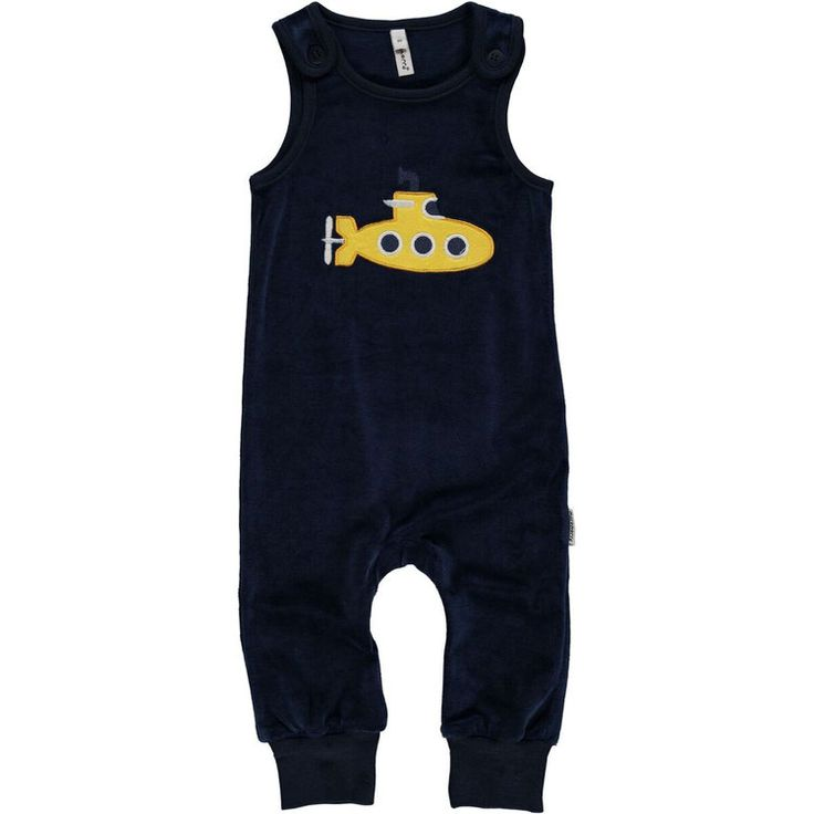 maxomorra - Playsuit Embroid - Submarine