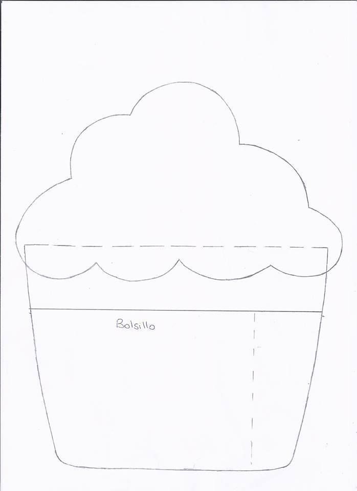 cupcake, bolo, porta-recados 2de2