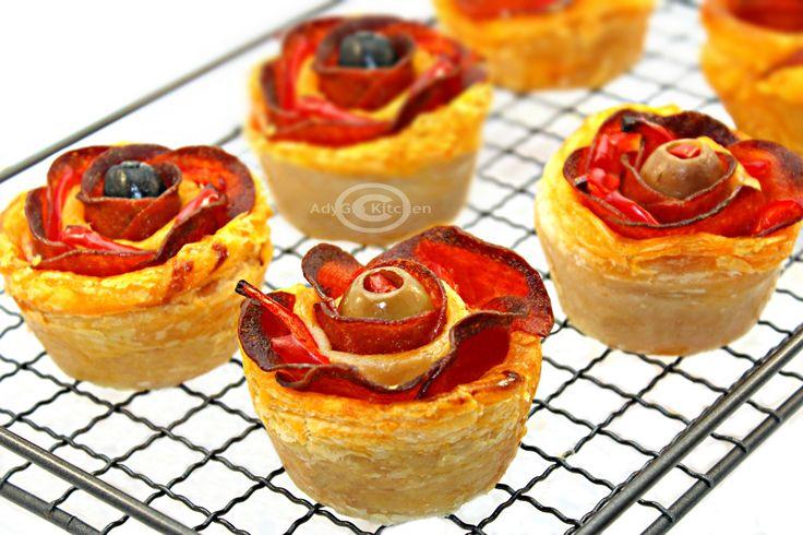 Reteta trandafiri de pizza   Pizza Roses Adygio Kitchen  #adygio #pizza