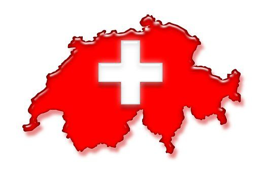 Schweiz, Flagge, Nationalfarben