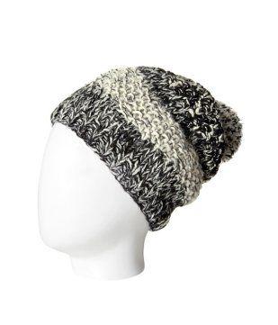 Bonnet femme imprimé noir - Promod 12,95€