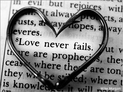 love never fails...