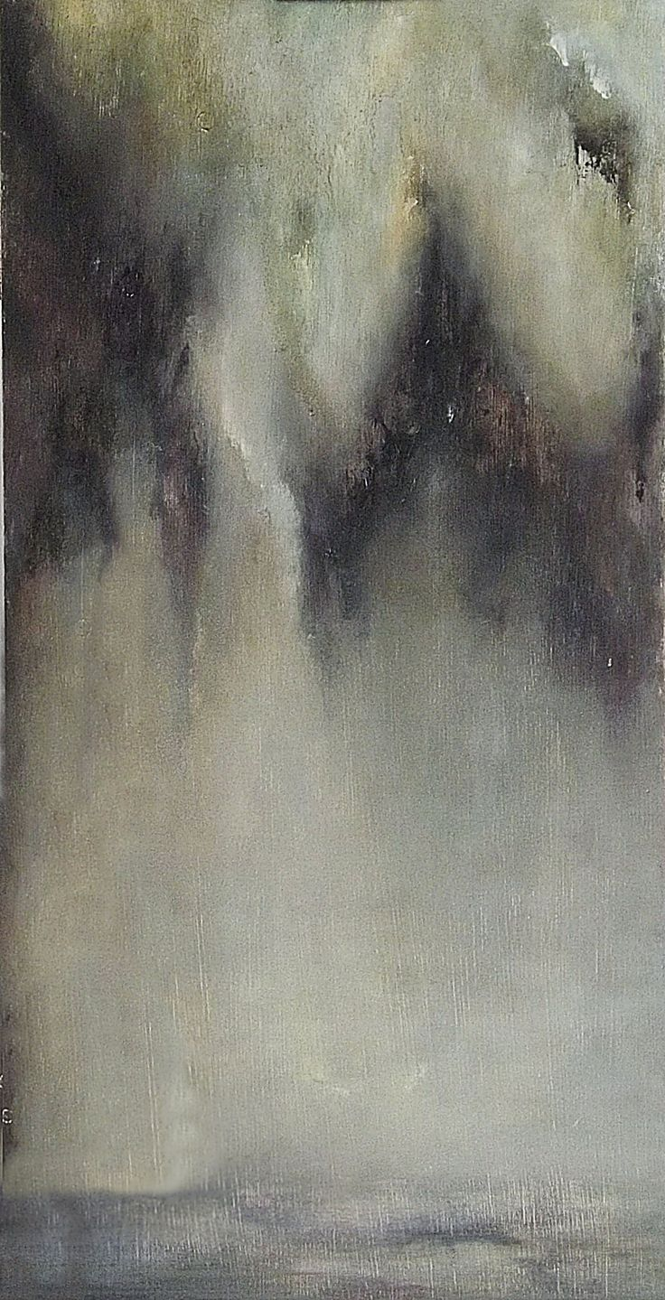 """Fernweh #4"", oil on wood, 80x40 cm, 2015"