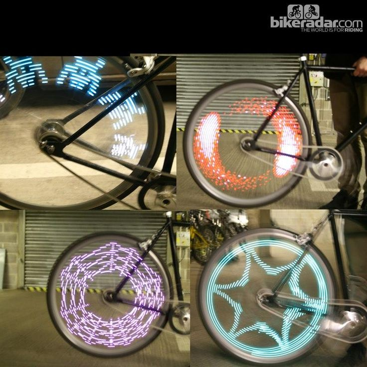 Wheel lights . . . cool