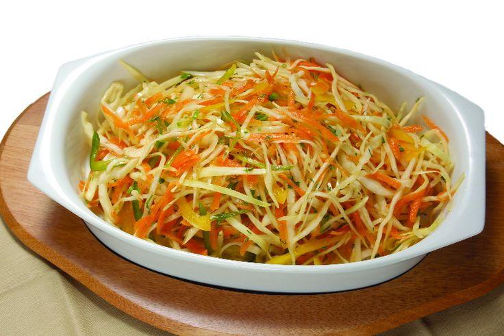 Салат из свежей капусты и моркови | Рецепты салатов