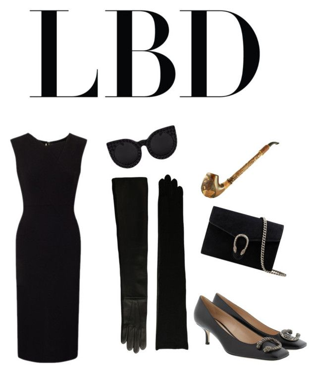 """Ash"" by ralugoii on Polyvore featuring Lauren Ralph Lauren, Roland Mouret, Gucci and Delalle"