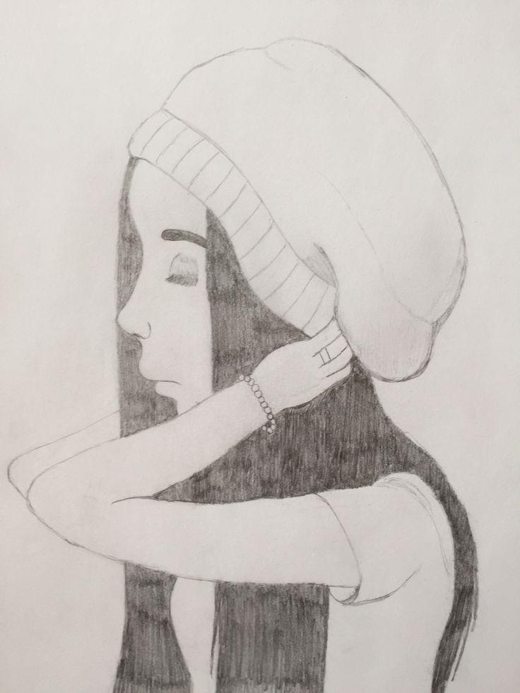 #dibujo #mujer #perfil