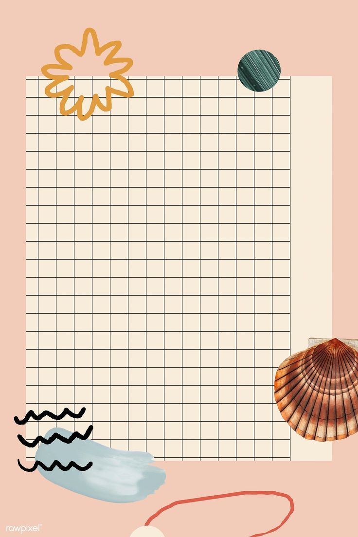 Download Premium Illustration Of Clam Shell Pattern On Grid Background Di 2020 Seni Geometris Ilustrasi Poster Desain Pamflet