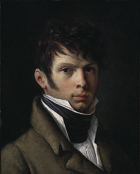 Romantic painter Pierre-Paul Prud'hon (French:1758 – 1823) - Arnauld de Beaufort  (1818)