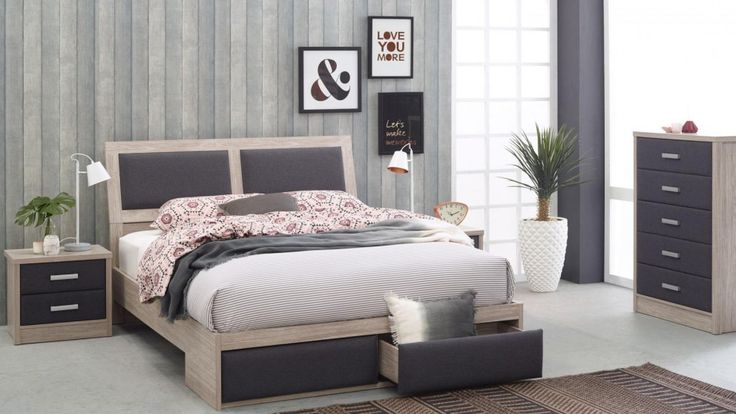 Beacon 4 Piece Queen Bedroom Suite