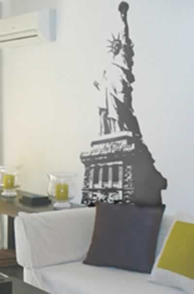 Statue Of Liberty Wallsticker