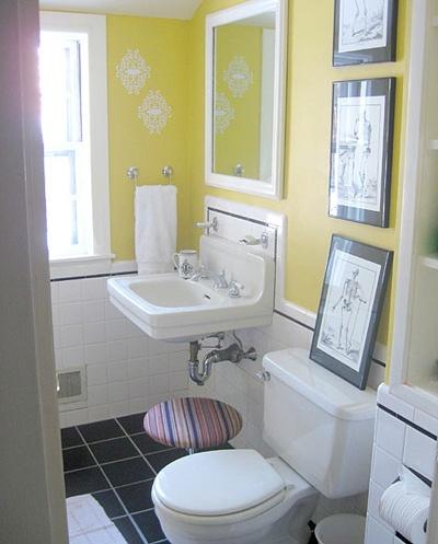 baño básico renovado