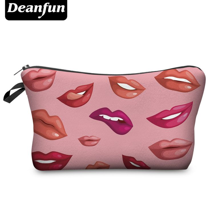 Deanfun 2017 3D Printing Large Cosmetic Bag Fashion Women Brand H54