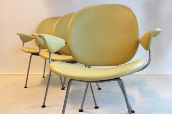 Gispen Easy Chairs '302' for Kembo