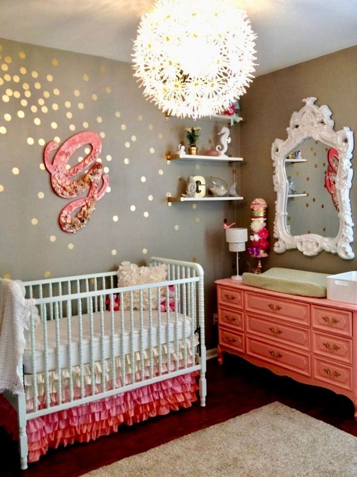 528 best the nursery images on pinterest bedroom ideas for Ideas for decorating baby room