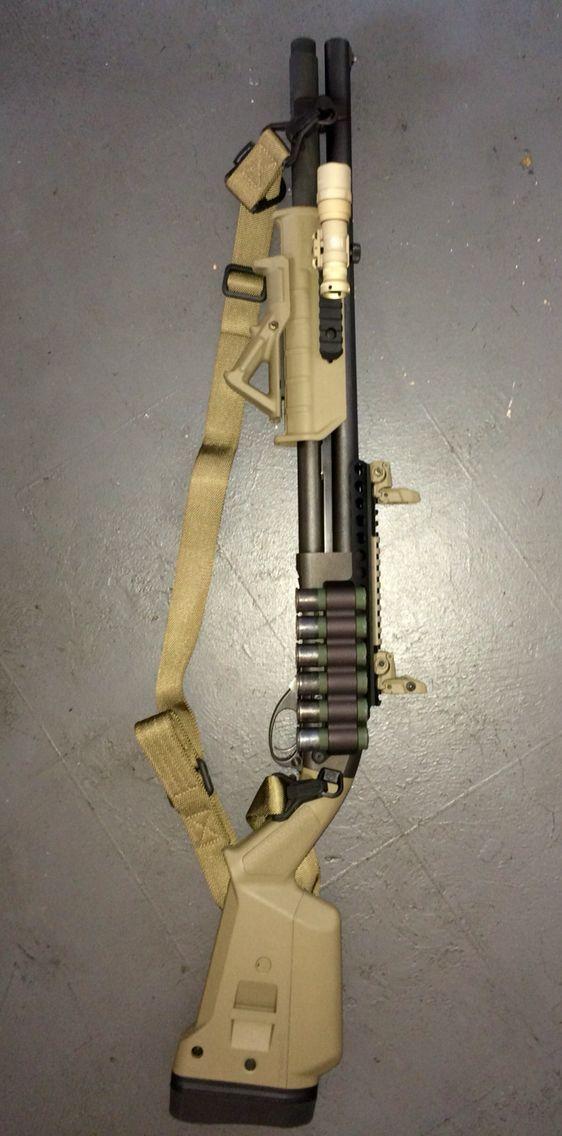 Remington 870 Express Tactical Shotgun Guns #Guns