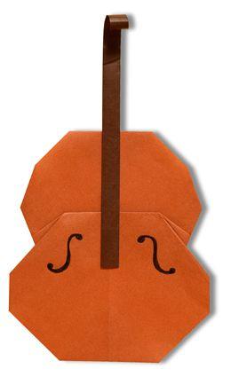 origami A Violin