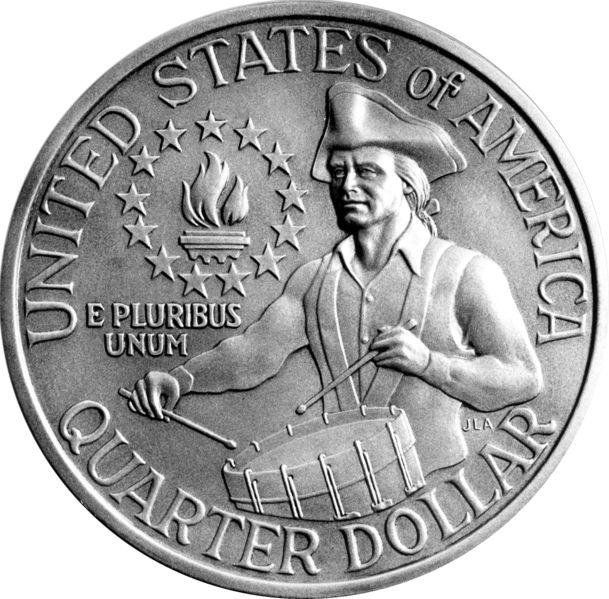 United States Of America Quarter Dollar E Pluribus Unum ...