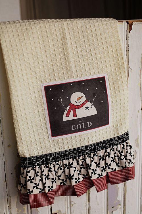 Holiday Towel