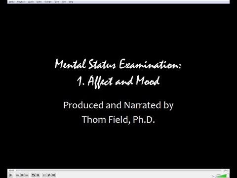 Mental Status Exam Training, part 1: Affect and Mood - YouTube
