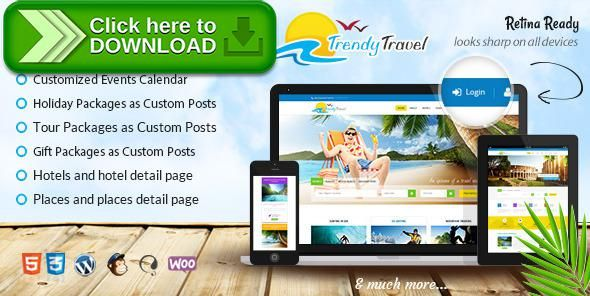 [ThemeForest]Free nulled download Trendy Travel - Tour, Travel & Travel Agency Theme from http://zippyfile.download/f.php?id=33765 Tags: adventure, booking, explorer, holiday, hotel, places, responsive, summer, tour, tour operator, tourism, travel, travel agency, travel guide, trip