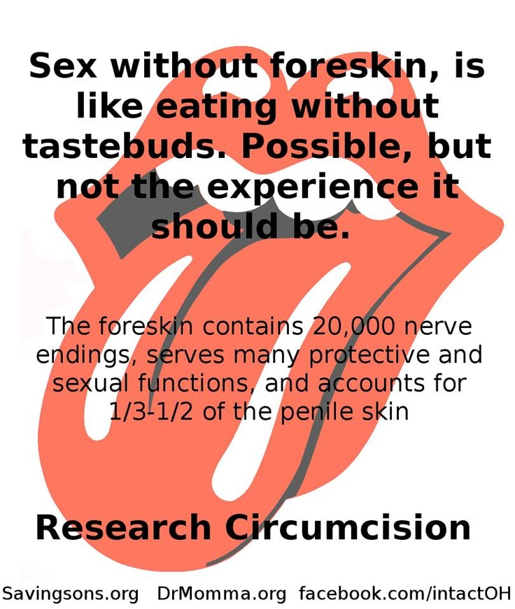 "Foreskin is not ""just skin"". I love my intact son!!. No Circ. No to circumcision."