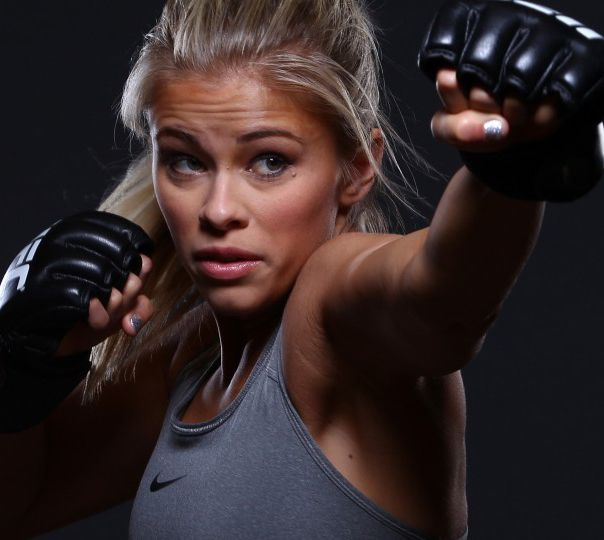 """Here's How UFC Star Paige """"12 Gauge"""" VanZant Is Preparing For Saturday's Fight With Alex Chambers http://www.askmen.com/recess/interviews/paige-vanzant-interview.html"""