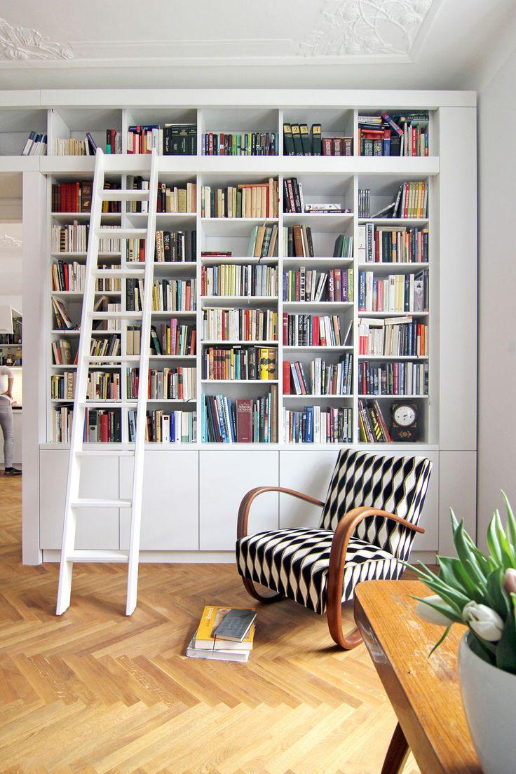 library ladder, halabala chair H-269