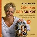 Sonja Kimpen  Sterker dan Suiker, pak je suikerverslaving aan want het is zo slecht voor je gezondheid, lees meer op http://energiekevrouwenacademie.nl/inspirerende-boeken/boeken-over-gezond-eten-en-leven/sterker-dan-suiker-sonja-kimpen/