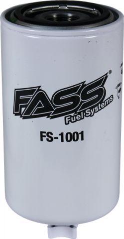 FS-1001 FASS Fuel Systems HD Series Diesel Fuel Filter-Water Separator Replacement Fitment Duramax, Cummins, Powerstroke