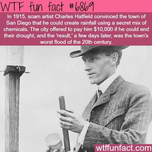 Charles Hatfield - WTF fun fact